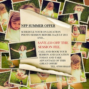 Nottingham Family Portraits Summer Offer