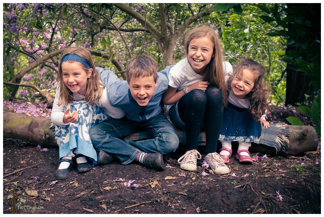 Family Portrait in Bramcote Park