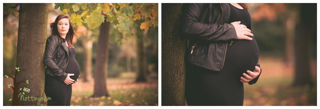 Nottingham maternity pregnancy photography